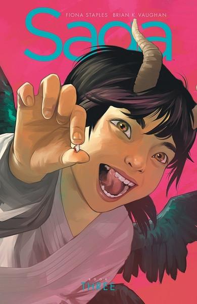 Saga Book Three Graphic Novel (Hardcover)