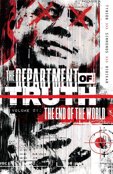 The Department of Truth Volume 1 The End of the World Graphic Novel