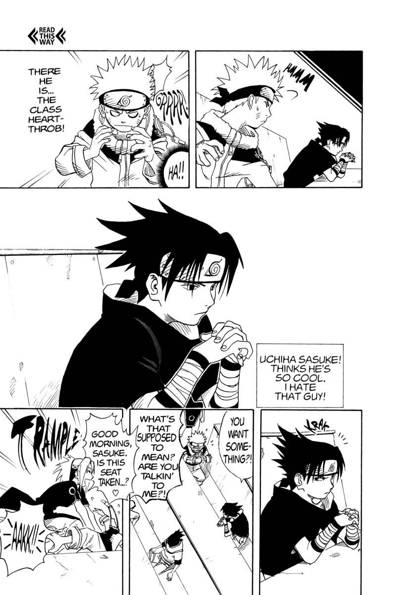 Naruto Manga Volume 1