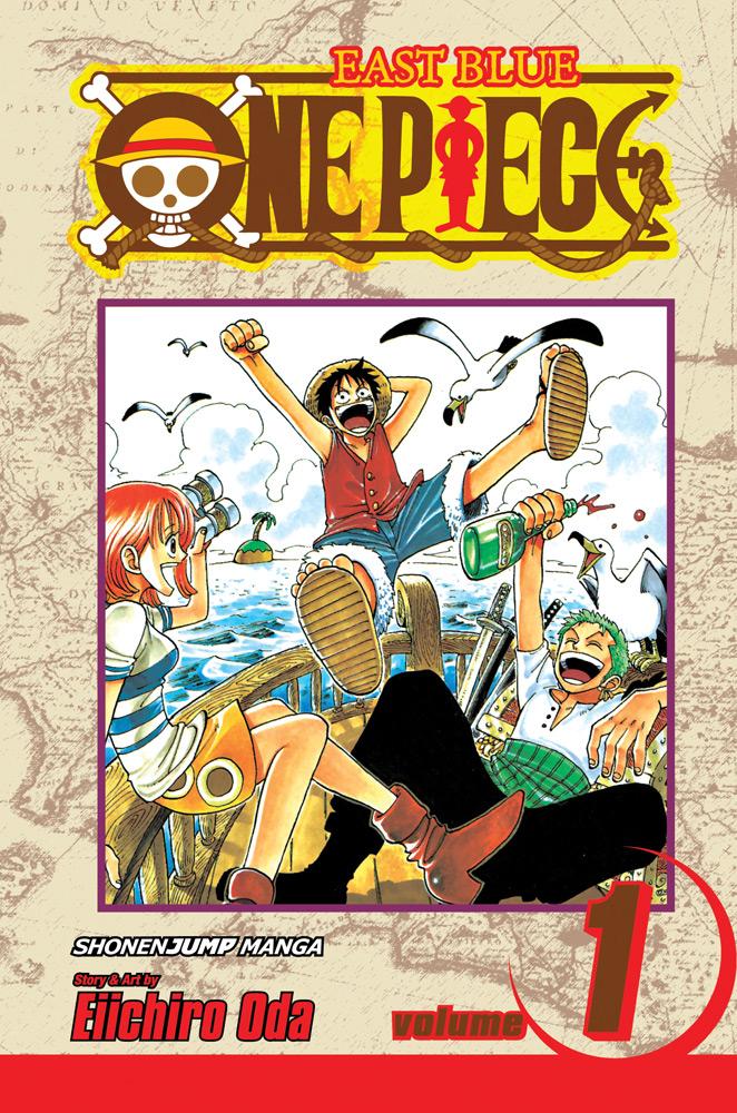 One Piece Manga Volume 1