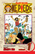 One Piece Manga Volume 1