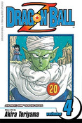 Dragon Ball Z Manga Volume 4 (2nd Ed)