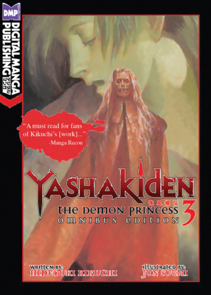 Yashakiden The Demon Princess Novel Volume 3