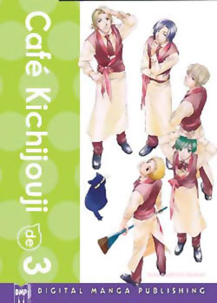 Cafe Kichijouji de Manga Volume 3