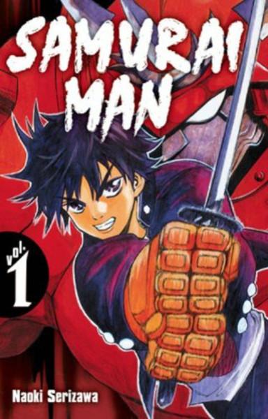 Samurai Man Manga (1-3) Bundle