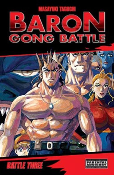Baron Gong Battle Manga Volume 3