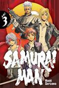 Samurai Man Manga Volume 3