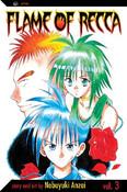Flame of Recca Manga Volume 3