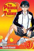 Prince of Tennis Manga Volume 3