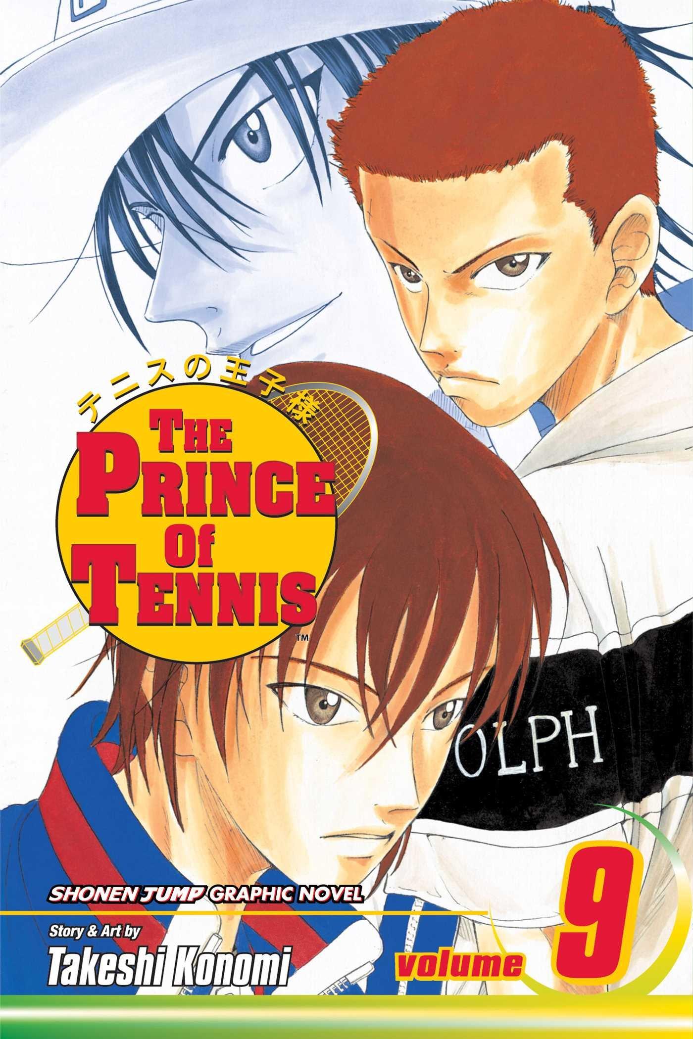 Prince of Tennis Manga Volume 9
