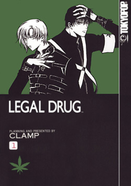 Legal Drug Manga Volume 1