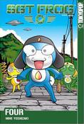 Sgt. Frog Manga Volume 4