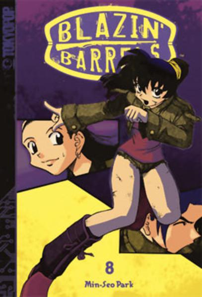 Blazin' Barrels Manga Volume 8