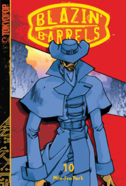 Blazin' Barrels Manga Volume 10
