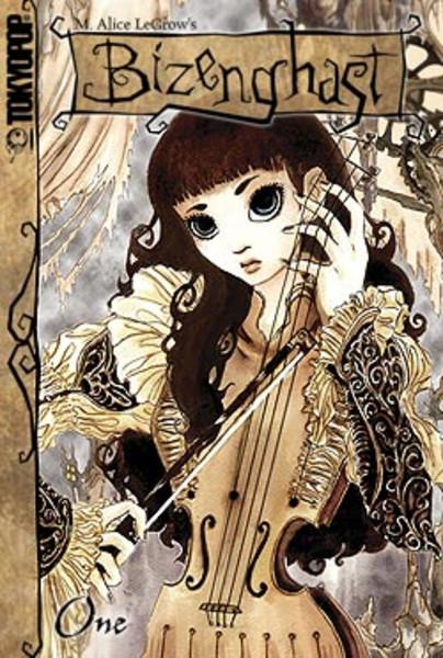 Bizenghast Manga Volume 1