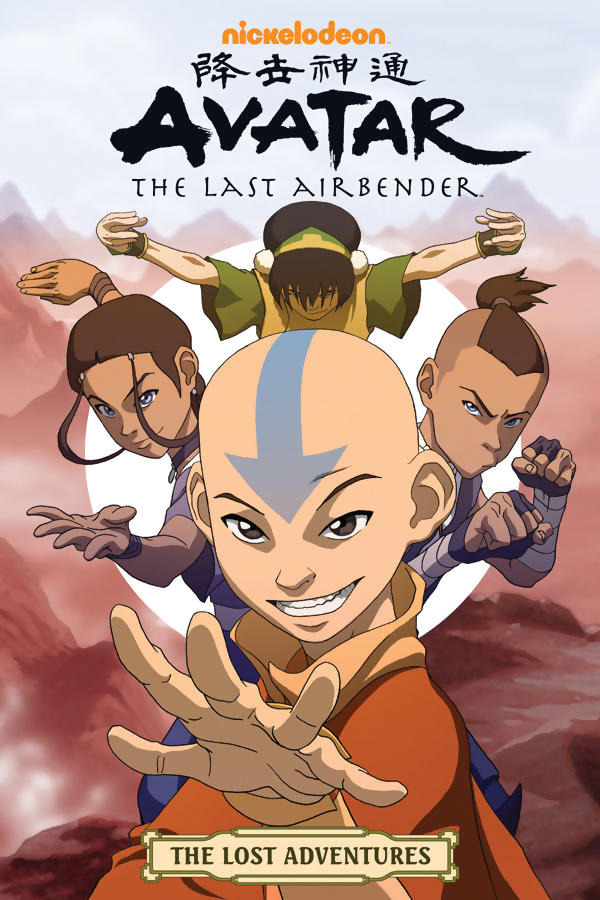 Avatar The Last Airbender The Lost Adventures Manga 9781595827487
