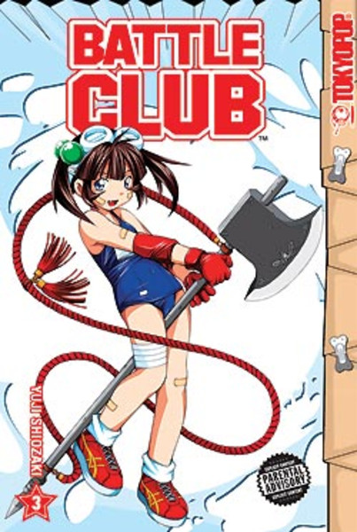 Battle Club Manga Volume 3