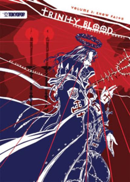 Trinity Blood Rage Against the Moons Novel 3 Know Faith
