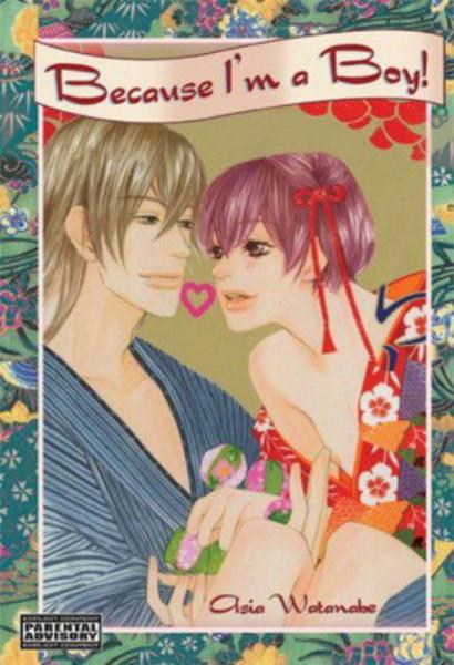 Because I'm A Boy! Manga