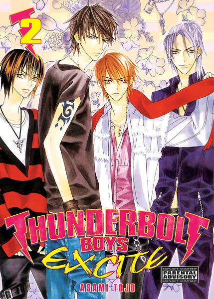 Thunderbolt Boys Excite Manga 02