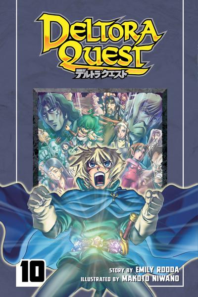 Fashion Book Cover Quest : Deltora quest manga volume