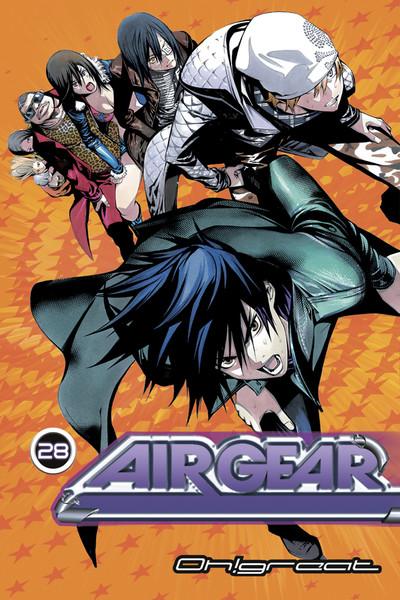 Air Gear Manga Volume 28