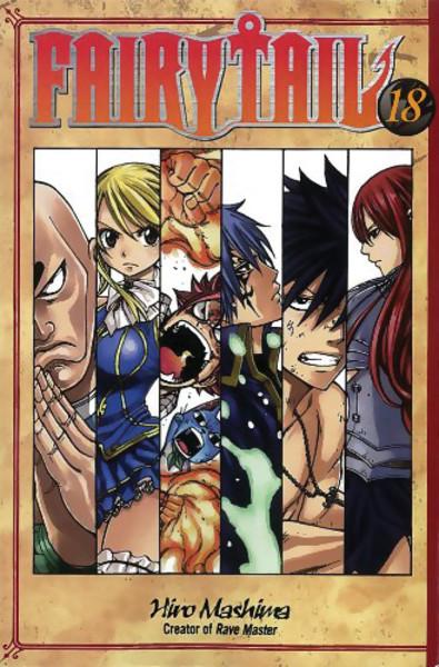 Fairy Tail Manga Volume 18