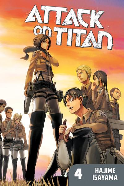 Attack on Titan Manga Volume 4