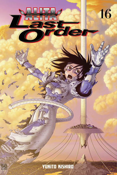 Battle Angel Alita Last Order Manga Volume 16