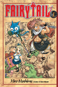 Fairy Tail Manga Volume 1