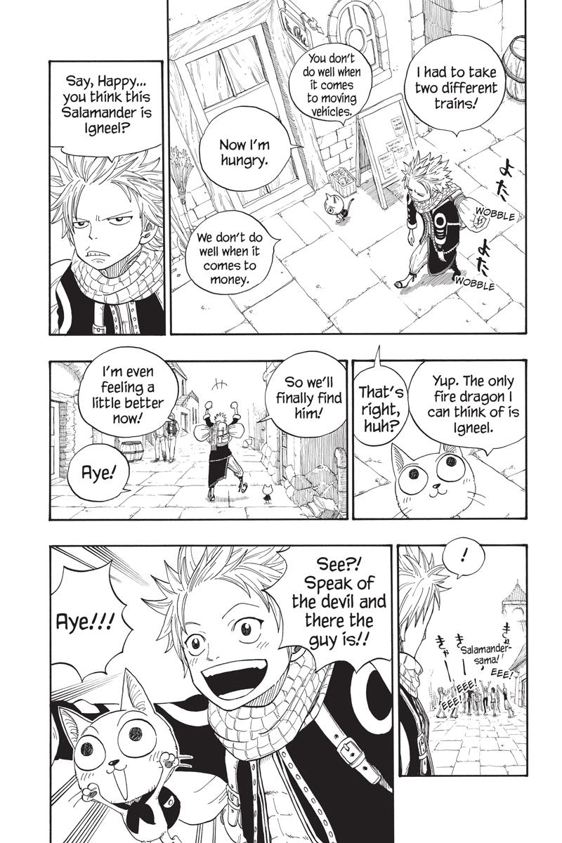 Fairy Tail Manga Volume 1