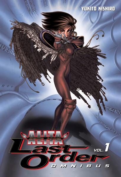 Battle Angel Alita Last Order Manga Omnibus Volume 1