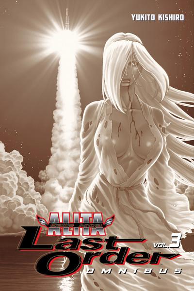 Battle Angel Alita Last Order Manga Omnibus Volume 3