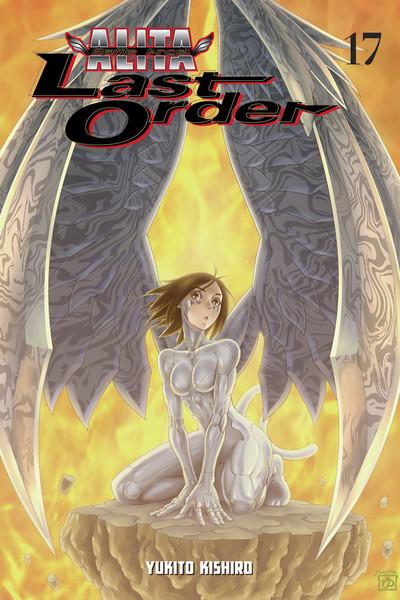 Battle Angel Alita Last Order Manga Volume 17