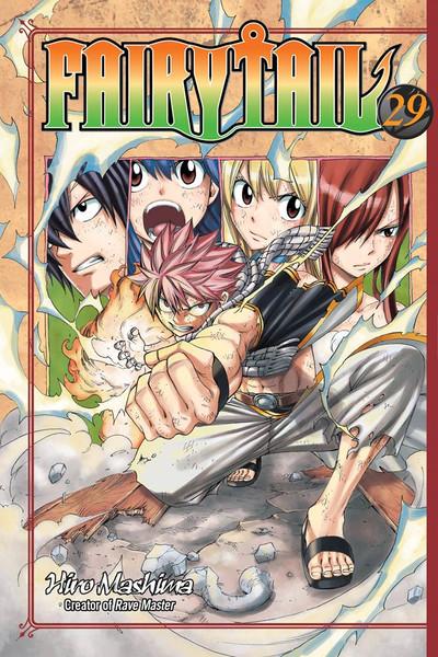 Fairy Tail Manga Volume 29