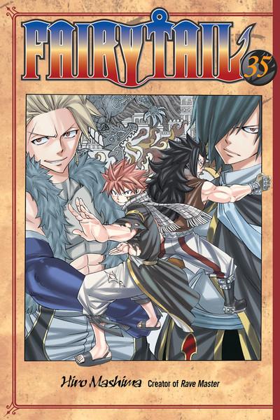 Fairy Tail Manga Volume 35