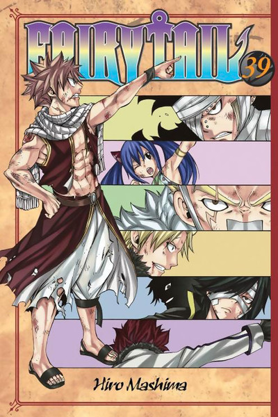 Fairy Tail Manga Volume 39