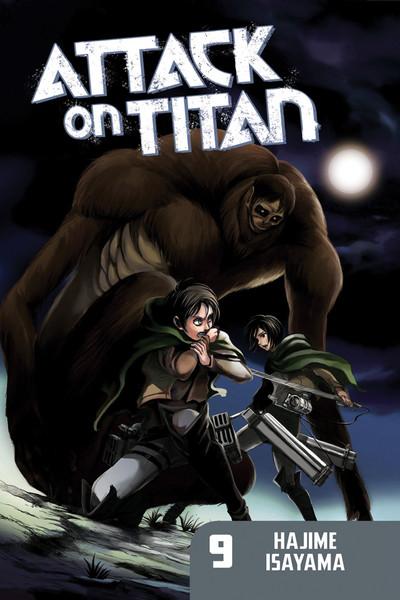 Attack on Titan Manga Volume 9