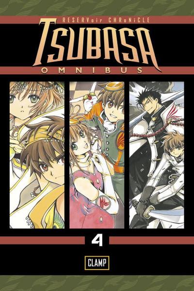 Tsubasa RESERVoir CHRoNiCLE Manga Omnibus Volume 4