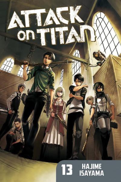 Attack on Titan Manga 13