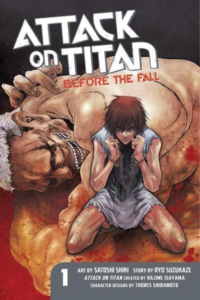 Attack on Titan Before the Fall Manga Volume 1