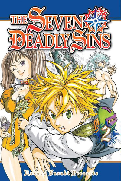 The Seven Deadly Sins Manga Volume 2