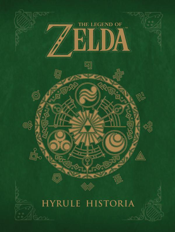 Legend of Zelda Hyrule Historia (Hardcover)