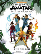 Avatar The Last Airbender The Search Manga Library Edition (Hardcover)