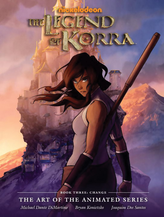 The Art of the Legend of Korra Book Three Change (Hardcover) 9781616555658