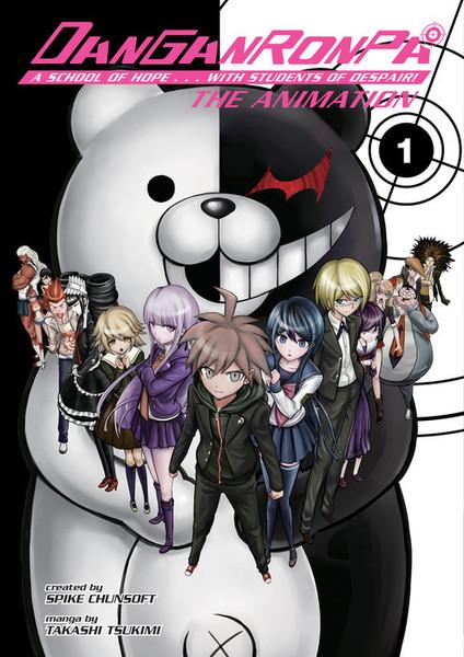 Danganronpa The Animation Manga Volume 1
