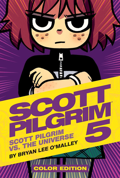 Scott Pilgrim Color Edition Graphic Novel Volume 5 (Hardcover)