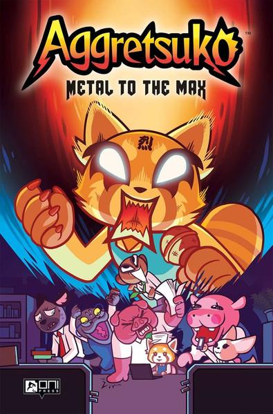 Aggretsuko Metal to the Max Graphic Novel (Hardcover)
