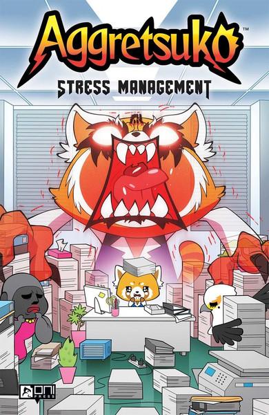 Aggretsuko Stress Management Graphic Novel (Hardcover)