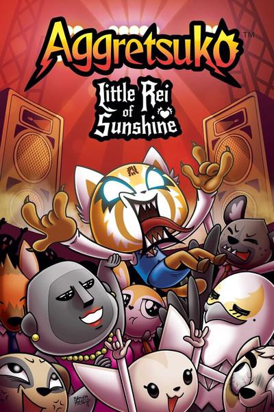 Aggretsuko Little Rei of Sunshine Graphic Novel